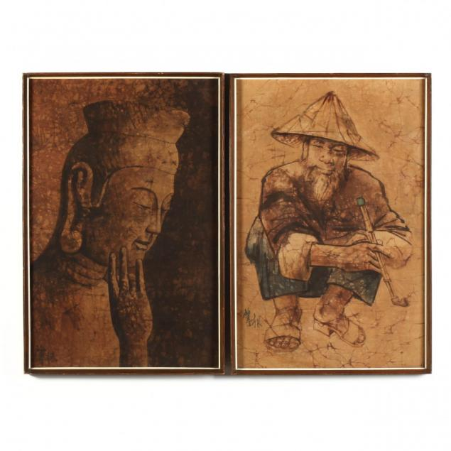two-chinese-paintings-on-linen