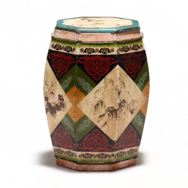 chinese-painted-garden-stool