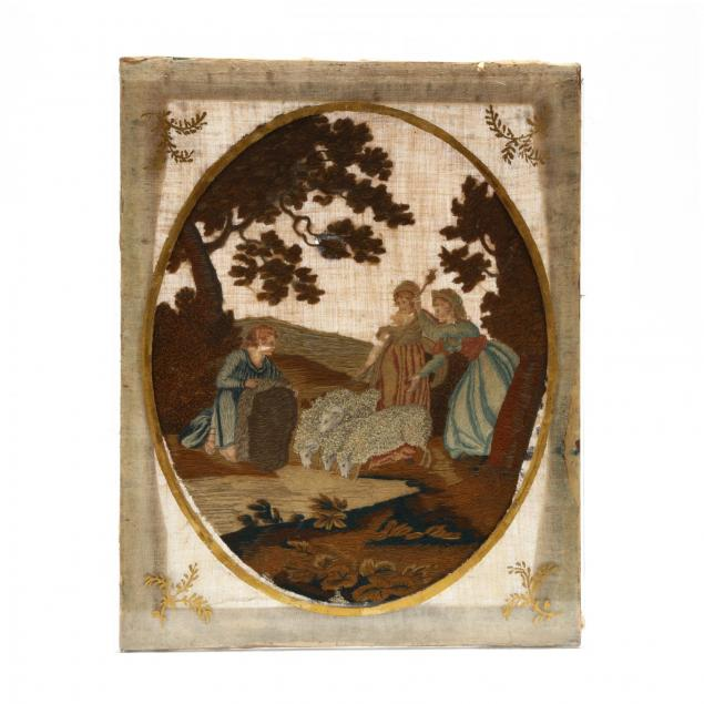 antique-embroidered-and-painted-scene
