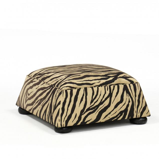 designer-silk-upholstered-ottoman