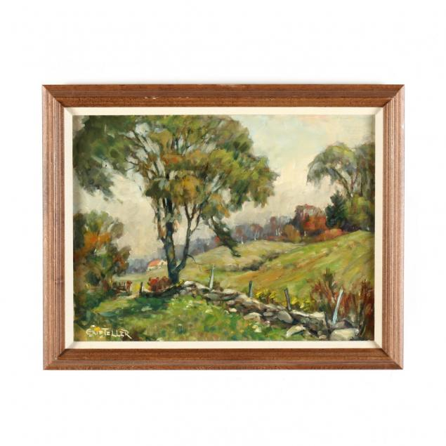 grif-teller-nj-1899-1993-landscape-with-stone-wall