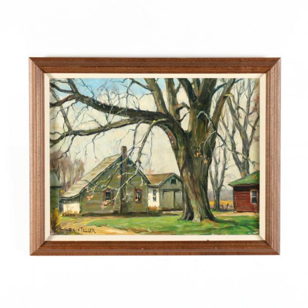 grif-teller-nj-1899-1993-farm-house-landscape