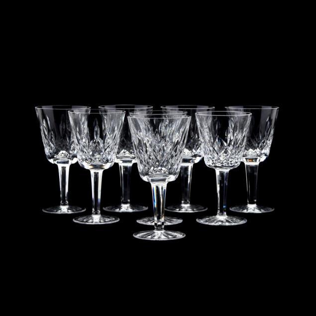 waterford-eight-lismore-claret-wine-stems