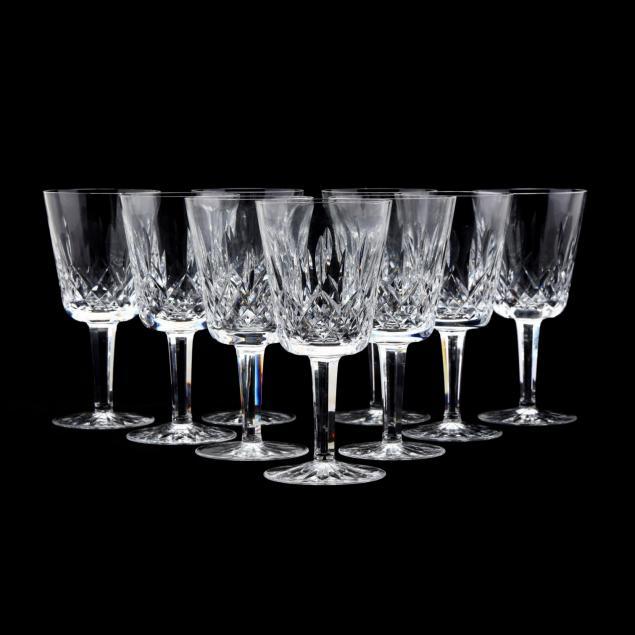 waterford-nine-lismore-water-glasses