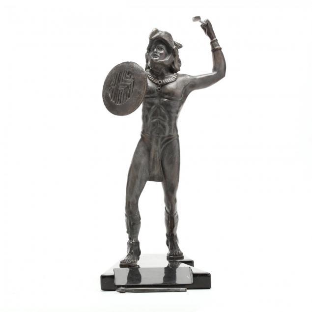 att-victor-gutierrez-mexican-b-1950-aztec-warrior