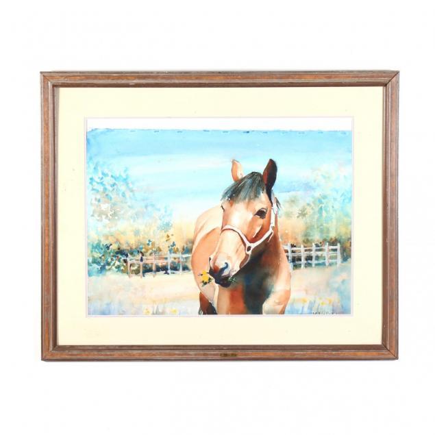 vivien-weller-nc-portrait-of-a-horse