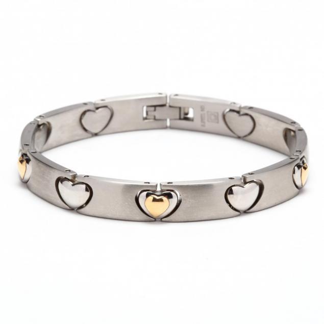 stainless-steel-and-14kt-link-bracelet