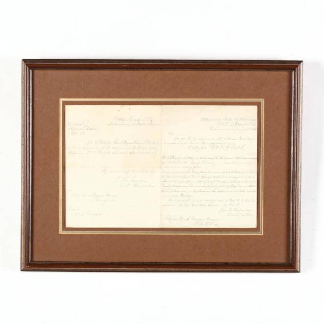 period-copy-of-confederate-general-bryan-grimes-appointment