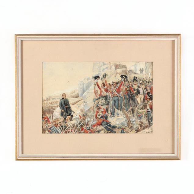 napoleonic-wars-scene-showing-english-victory-in-spain