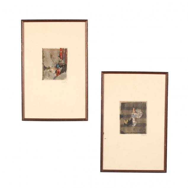 pair-of-signed-abstract-intaglio-prints
