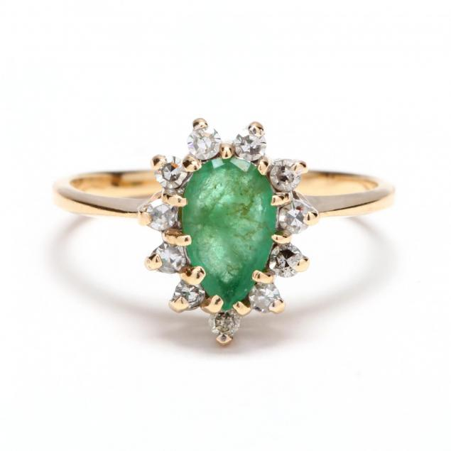 14kt-gold-emerald-and-diamond-ring