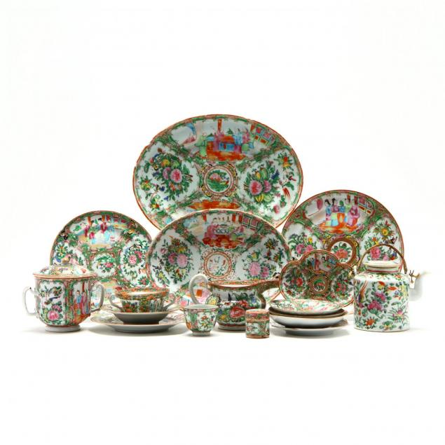 a-large-group-of-chinese-famille-rose-export-porcelain