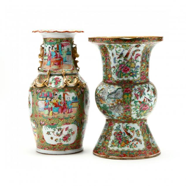 two-large-chinese-famille-rose-porcelain-vases