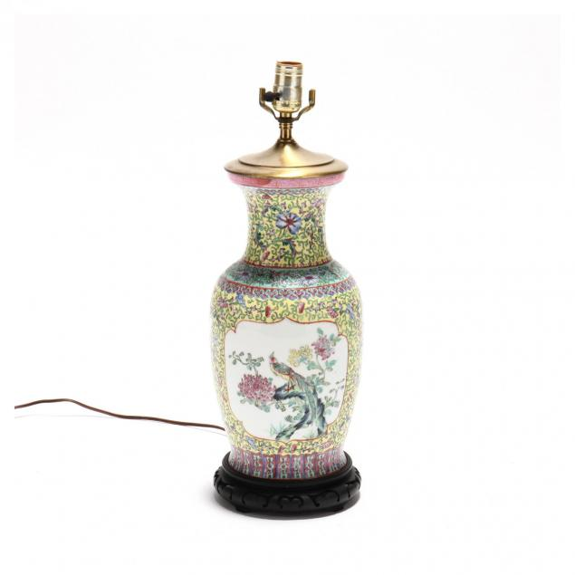 chinese-export-porcelain-table-lamp