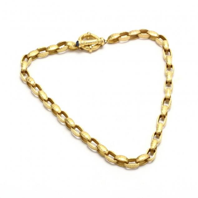 14kt-gold-and-sapphire-link-necklace