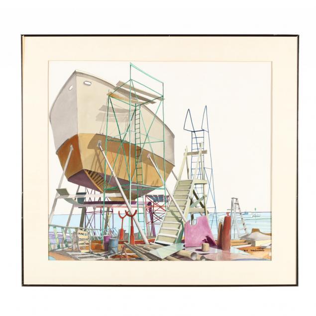 paul-minnis-nc-docked-ship