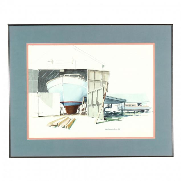 paul-minnis-nc-i-boat-building-harkers-island-i