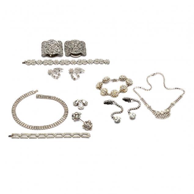 group-of-rhinestone-jewelry