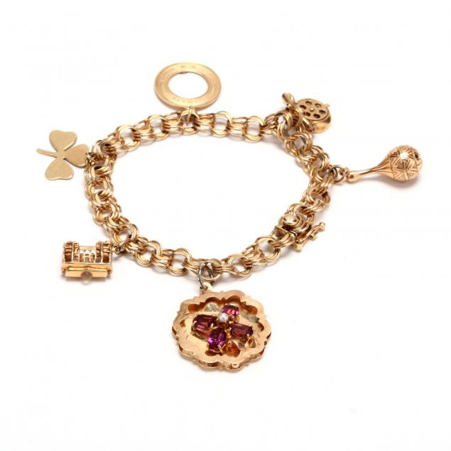 14kt-gold-charm-bracelet