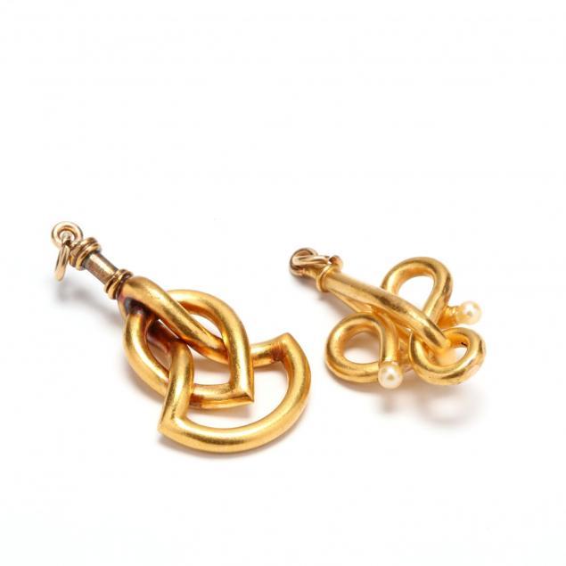 two-high-karat-gold-pendants