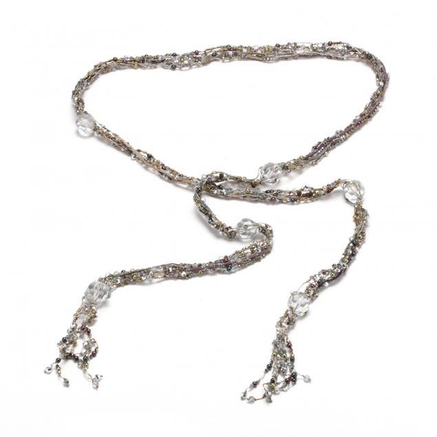 crystal-and-grey-pearl-scarf-necklace-daniel-swarovski