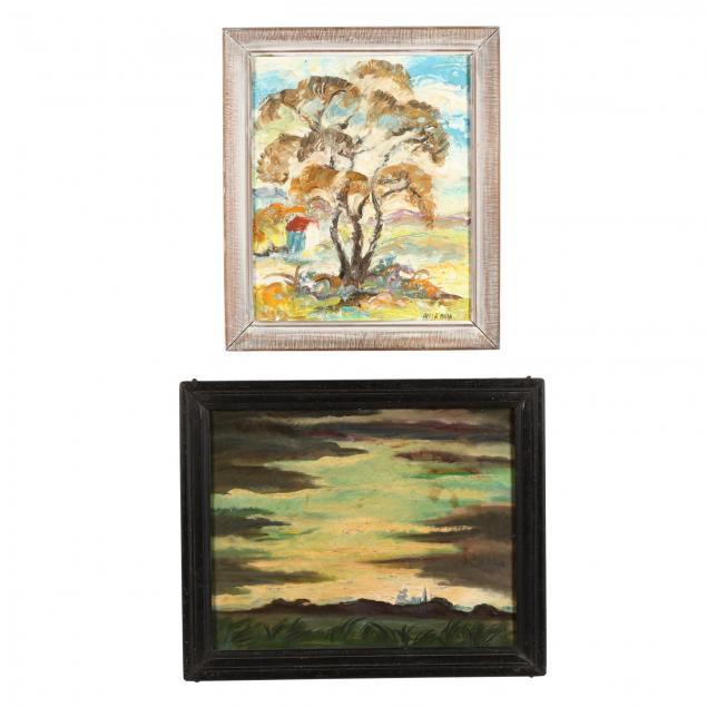 james-augustus-mclean-nc-1904-1989-two-original-paintings