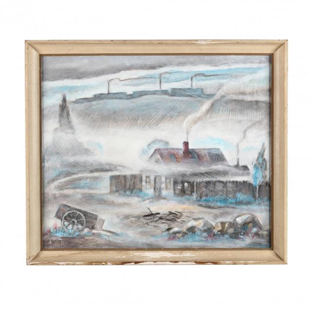 james-augustus-mclean-nc-1904-1989-i-foggety-s-shanty-i
