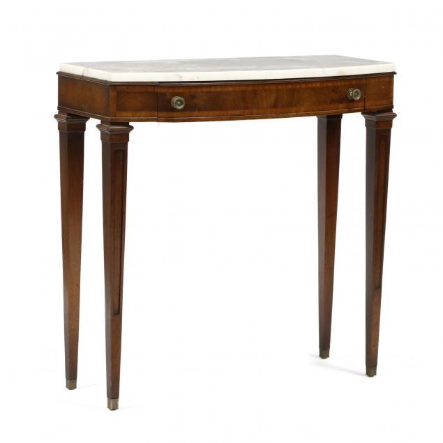 j-b-van-sciver-regency-style-marble-top-diminutive-console-table