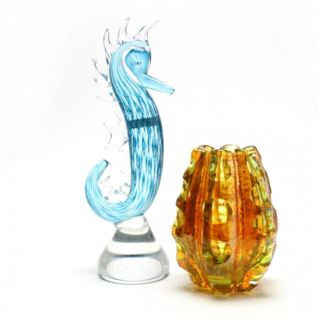 two-evolution-by-waterford-art-glass-sculptures