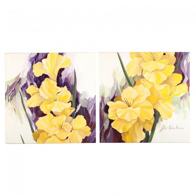 jill-troutman-nc-diptych-with-lilies