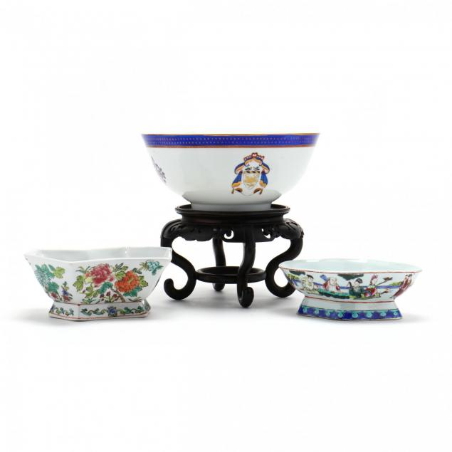 three-contemporary-chinese-export-porcelain-bowls