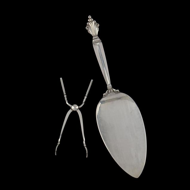 two-georg-jensen-sterling-silver-servers
