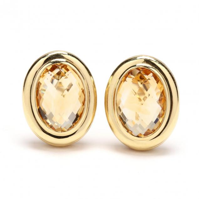 18kt-gold-and-citrine-earrings-david-yurman