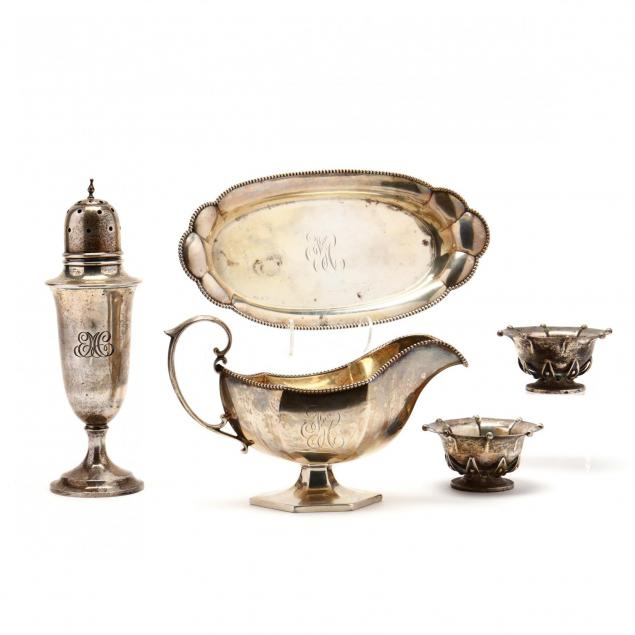 a-group-of-sterling-silver-table-accessories