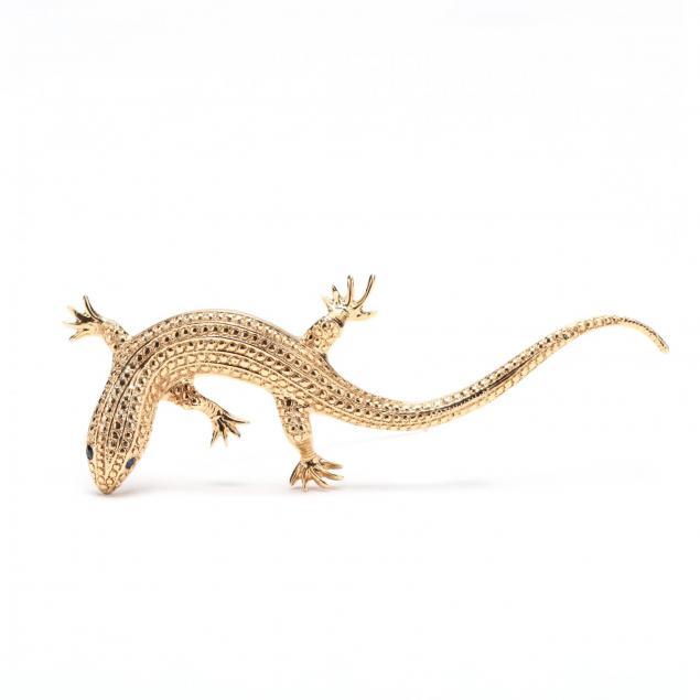 14kt-lizard-brooch
