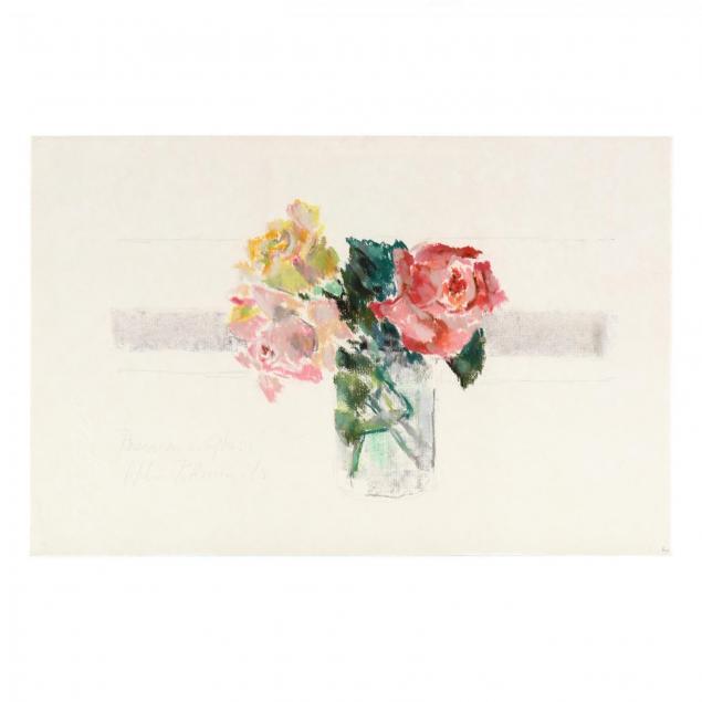 hobson-pittman-nc-pa-1899-1972-i-roses-in-a-glass-i