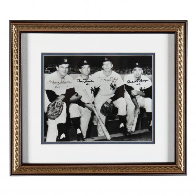 autographed-1961-new-york-yankees-infield-photograph