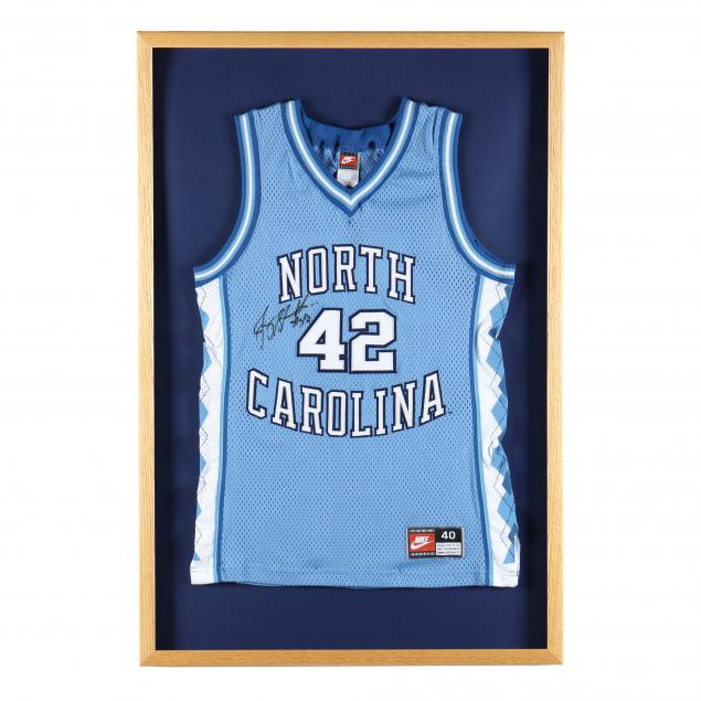 jerry-stackhouse-signed-unc-basketball-jersey