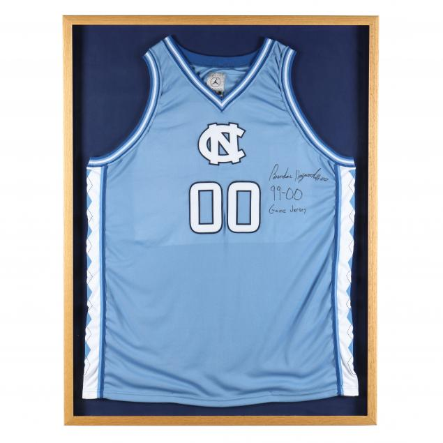brendan-haywood-unc-basketball-signed-game-jersey
