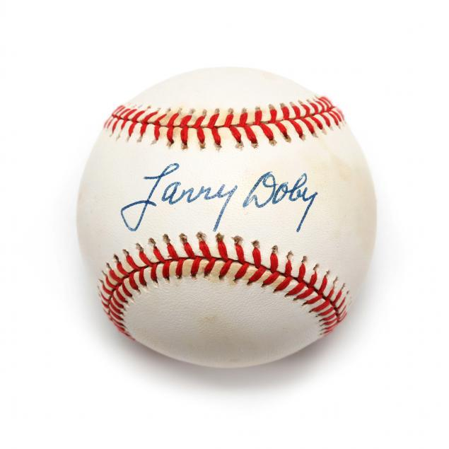 larry-doby-autographed-american-league-baseball