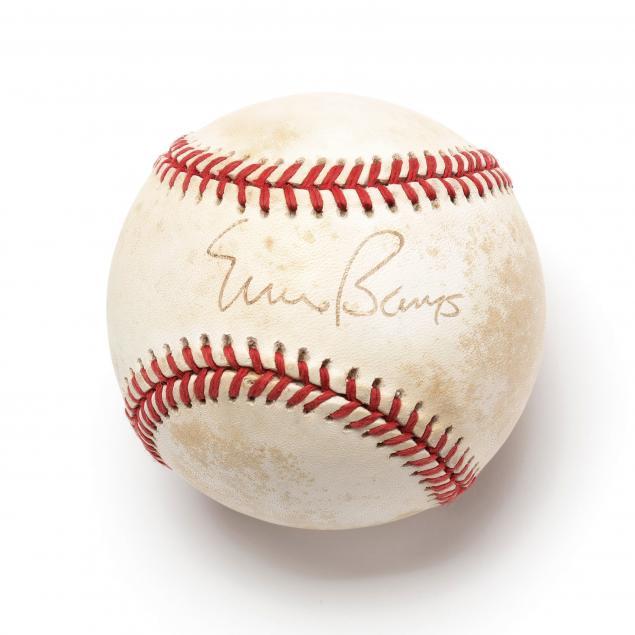 ernie-banks-autographed-baseball
