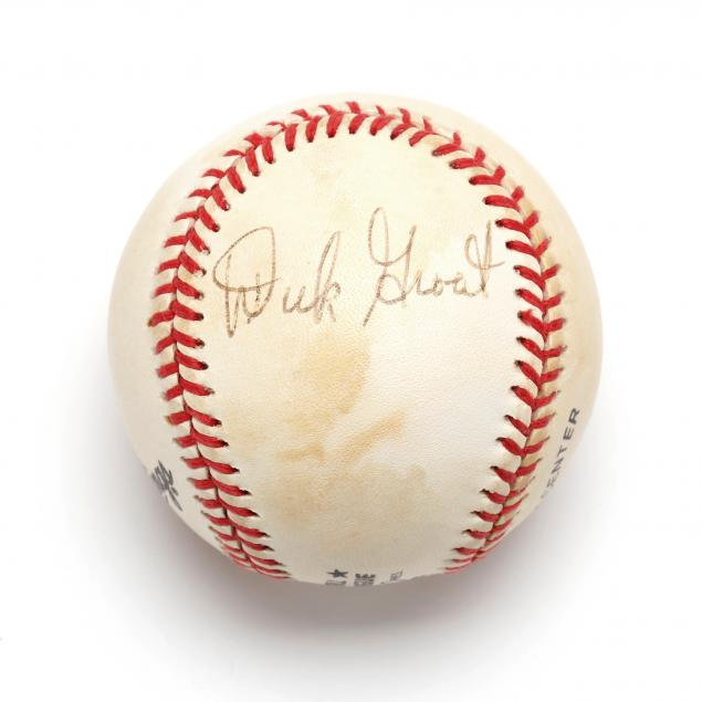 dick-groat-autographed-baseball