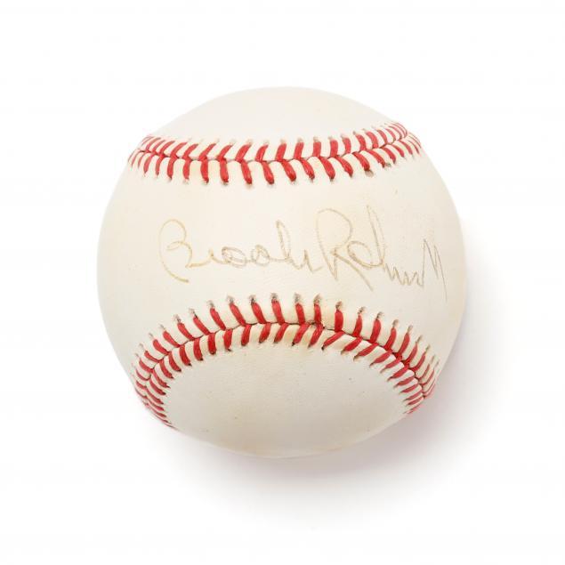 brooks-robinson-autographed-baseball