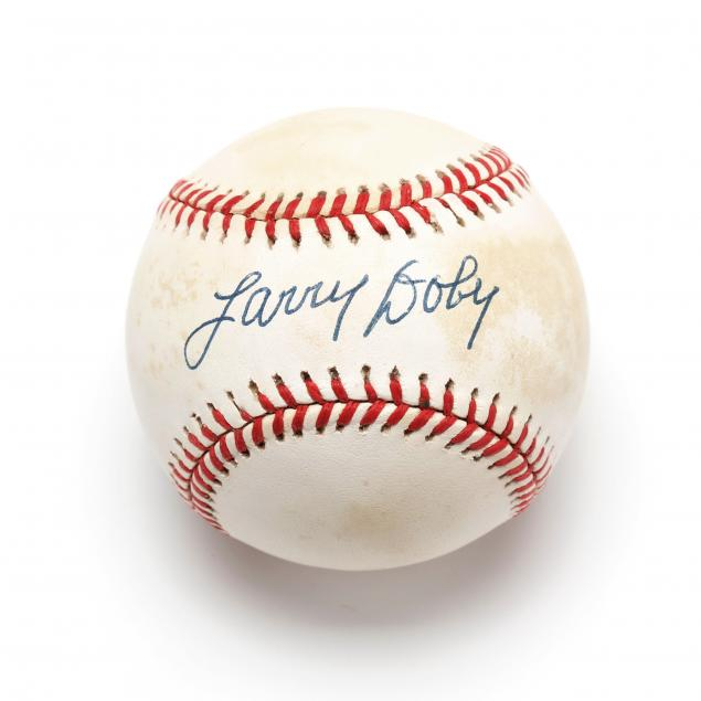 larry-doby-autographed-baseball