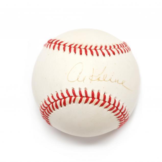 al-kaline-autographed-baseball