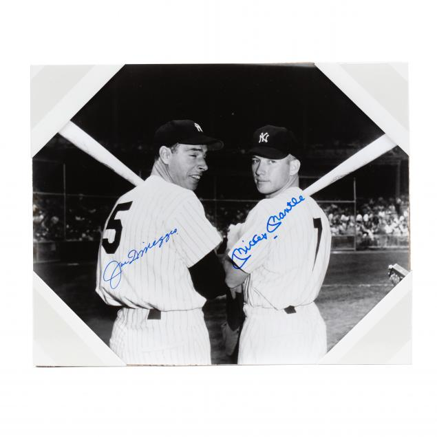 joe-dimaggio-and-mickey-mantle-signed-photograph