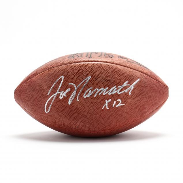 joe-namath-autographed-football
