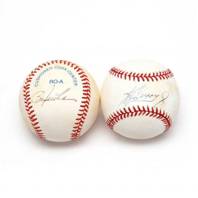 two-autographed-baseballs-ken-griffey-jr-and-bo-jackson