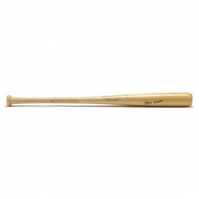 hank-aaron-autographed-louisville-slugger-bat