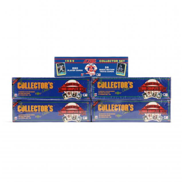 five-boxed-sets-of-upper-deck-the-collector-s-choice-baseball-cards